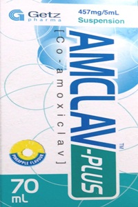 AMCLAV 475mg/5ml