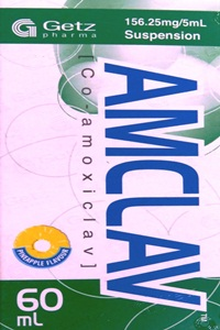 AMCLAV 156.25mg/5ml